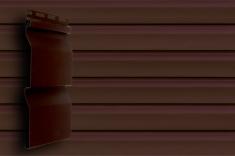 Акриловый сайдинг Grand Line слим (Тёмный дуб), 3,0