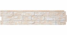 Фасадная панель Grand Line ЯФАСАД Скала (Слоновая кость), 1,53м