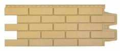 Фасадная панель GRAND LINE Клинкерный кирпич (Песочный), 1,10м