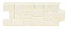 Фасадная панель GRAND LINE Крупный камень (Молочный), 1,10м