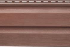 Сайдинг акриловый Kanada Плюс премиум Красно-коричневый, 3,66м