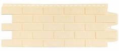Фасадная панель GRAND LINE Состаренный кирпич (Бежевый), 1,10м