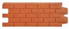 Фасадная панель GRAND LINE Состаренный кирпич (Терракотовый), 1,10м